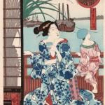 歌川国芳 「清月の月」